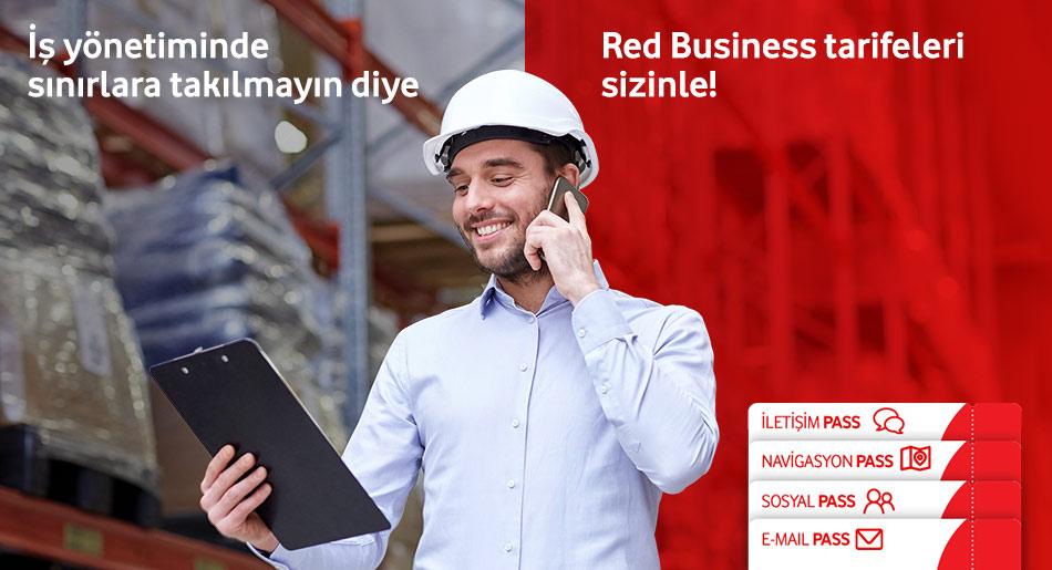 Red Business Tarifeleri sizinle!